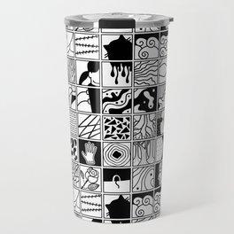 extraordinary spaces - pattern Travel Mug