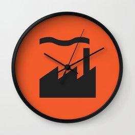 Factory 1 Wall Clock