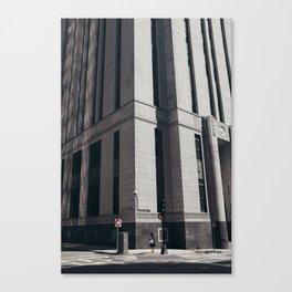 Financial District  Canvas Print