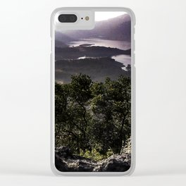 The View From Table Mountain Clear iPhone Case