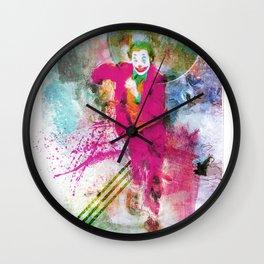 Artiful Joker Wall Clock