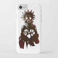 war iPhone & iPod Cases featuring WAR by Lukas Stobie