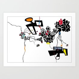 Paulista Sampa Art Print