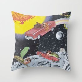 Hang A Louie After The Wormhole Throw Pillow