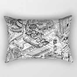 ARUP Fantasy Architecture Rectangular Pillow
