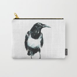 Pied Crow Carry-All Pouch