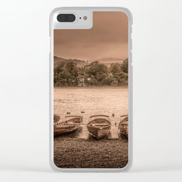 Kewsick Docks Clear iPhone Case