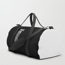 Run, Sleep, Repeat Gym Quote Duffle Bag
