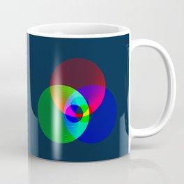 Red Green Blue Light Color Model Lines Coffee Mug