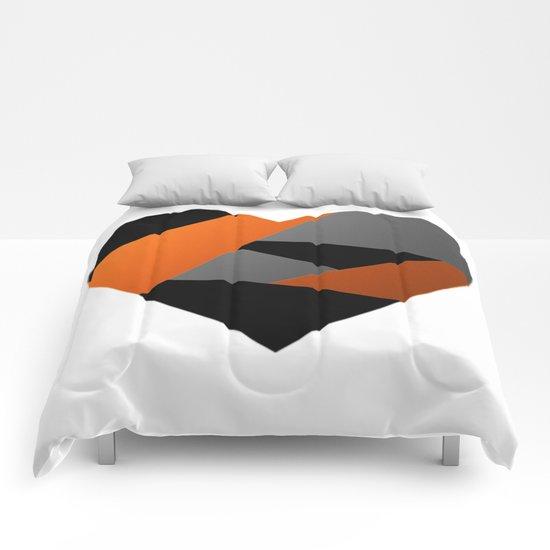 Metal Heart Comforters