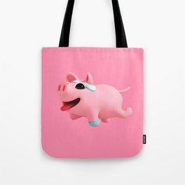Rosa excerise pink Tote Bag