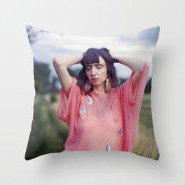 Big Girls Cry Throw Pillow
