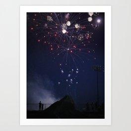 Fireworks #5 Art Print