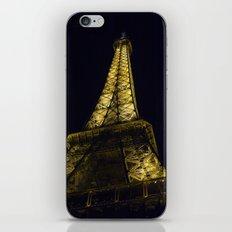 Eiffel Tower @ Night iPhone & iPod Skin