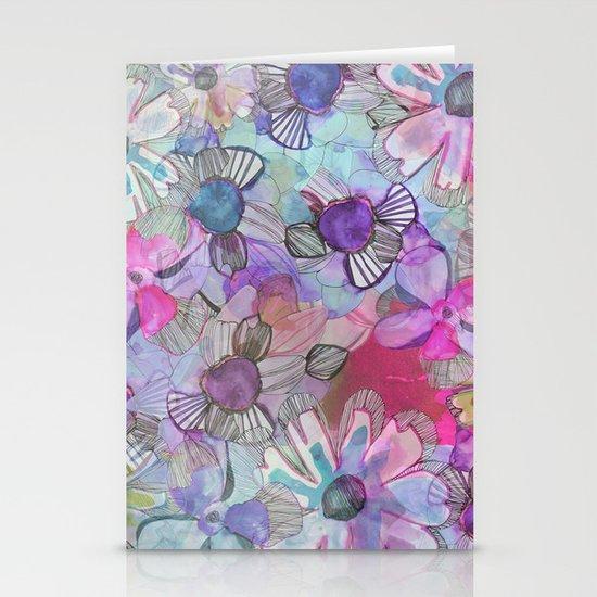 Flower Garden Stationery Cards