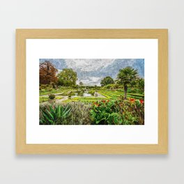 Kensington Gardens Framed Art Print