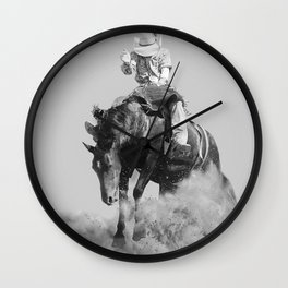 Rodeo Lifestyle Wall Clock