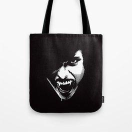 Scary Female Vampire Tote Bag