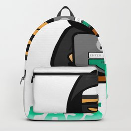 Hacker - I know your password Backpack