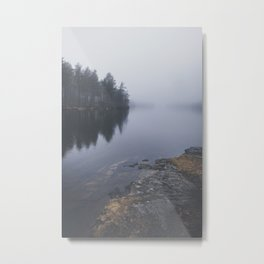 I love the rain Metal Print