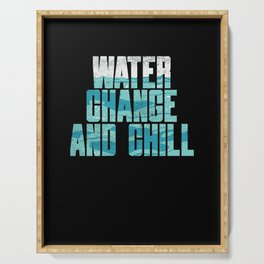 Water Change And Chill Serving Tray