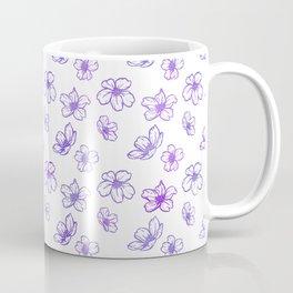 Cherry Blossoms (White Glow) - Lavender Coffee Mug