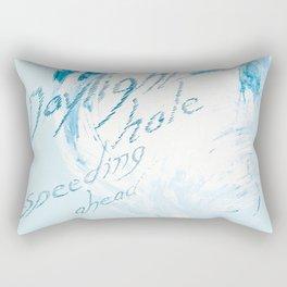 """Daylight Hole Speeding Ahead"" Rectangular Pillow"
