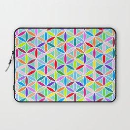 Flower of Life Pattern – Multicoloured Laptop Sleeve