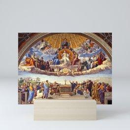 The Disputation of the Holy Sacrament by Raphael Mini Art Print