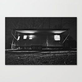 Airstream International Signature Canvas Print