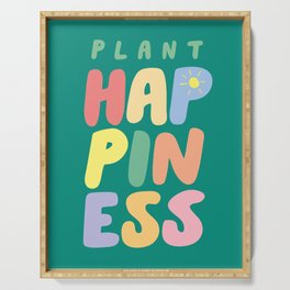 Plant Happiness Serving Tray