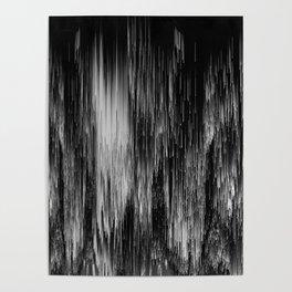 rain drop night Poster