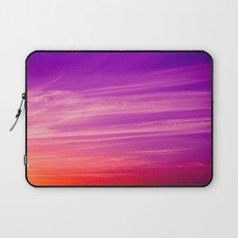 Lilac sunet Laptop Sleeve