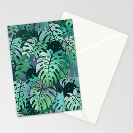 Monstera Monsters Stationery Cards