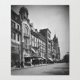 Tremont Street, Boston. 1906 Canvas Print