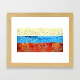 Sky Sea Beach 1 Framed Art Print