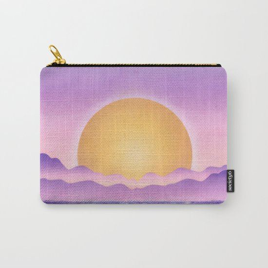 Sunset - purple variation Carry-All Pouch