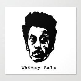 Whitey Sale Canvas Print