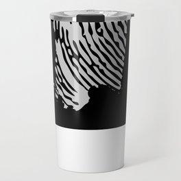 Sardinian fingerprint (black) Travel Mug