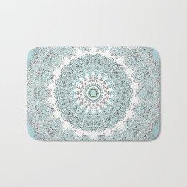 Mandala - Boho - Sacred Geometry - Pastels - Bath Mat