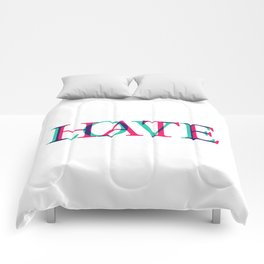 Love and Нate Comforters