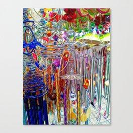 Artsy Wind Chimes #3 Canvas Print
