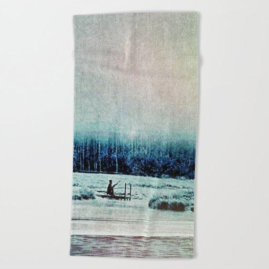 The Last Winter Beach Towel