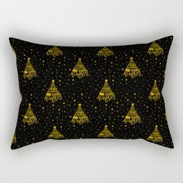 Merry Everything and a Happy Always Rectangular Pillow
