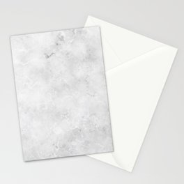 GRAY MARBLE Texture Stationery Cards