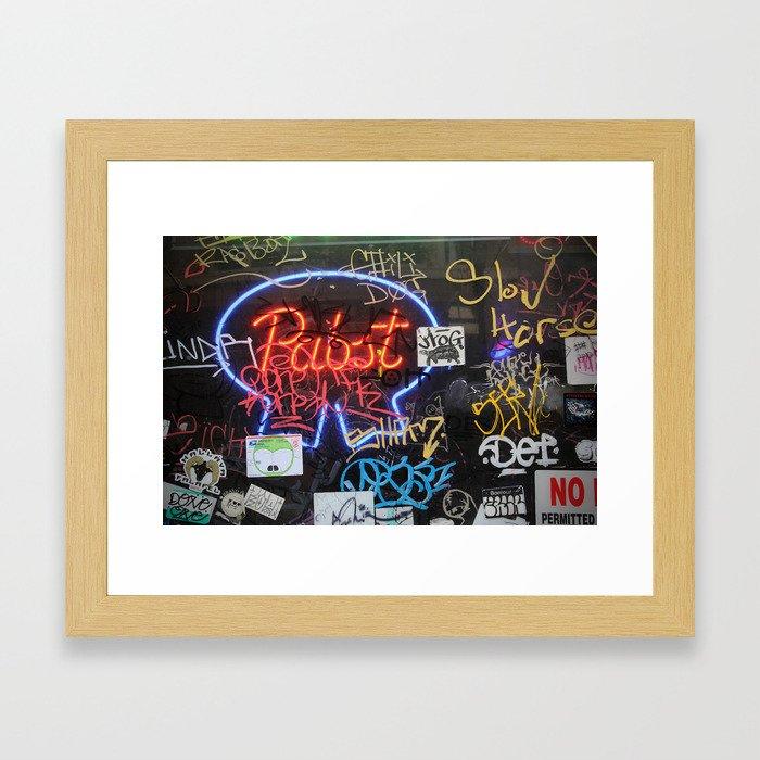 Decrepit Pabst Framed Art Print