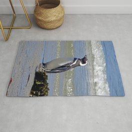 Magellanic Penguin by the Sea Rug