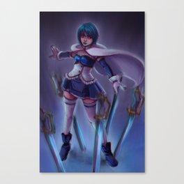 sayaka - sword draw Canvas Print
