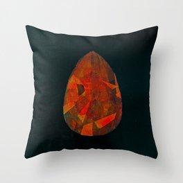 Shiva's teardrop Throw Pillow