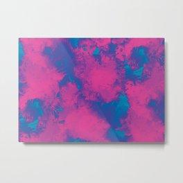 Cotton Candy Acid Trip Metal Print